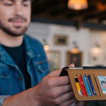 TwelveSouth BookBook for iPhone 6 merges the case with the wallet in a wonderful book-themed design