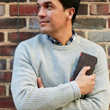 TwelveSouth BookBook iPhone 6 and 6 Plus case is great for men