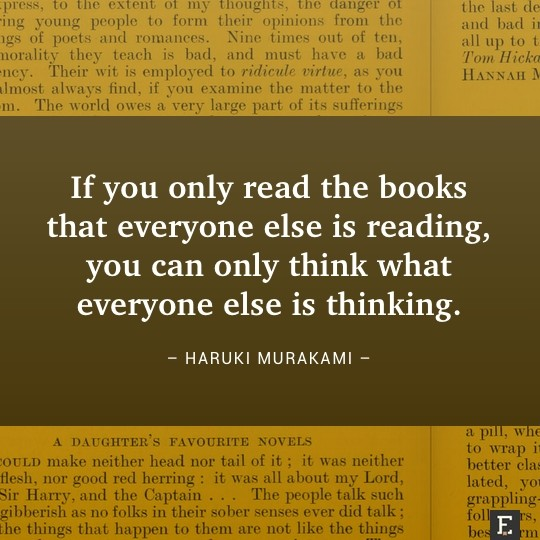 Book quotes in images – 25 brilliant thoughts about books, visualized