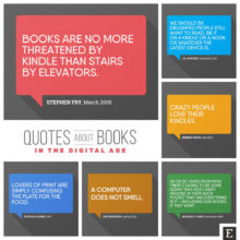 Most interesting #quotes about #books and #reading in the digital era