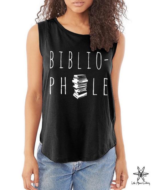 Bibliophile Cap Sleeve T-shirt
