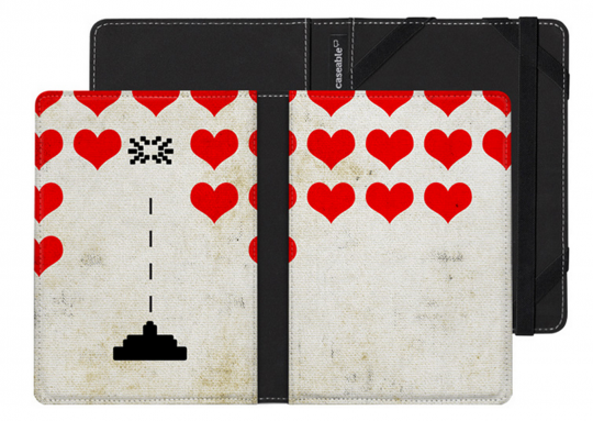 Caseable Heart Attack Kobo Touch Case
