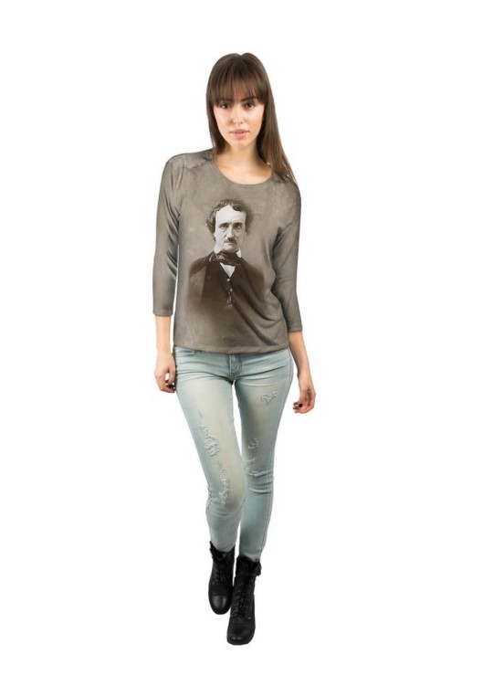 Edgar Allan Poe Women's 3/4 Sleeve