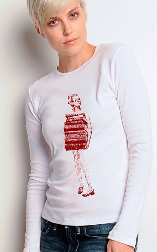 Just Books Long Sleeve T-shirt