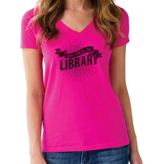 Take Me to the Library T-shirt