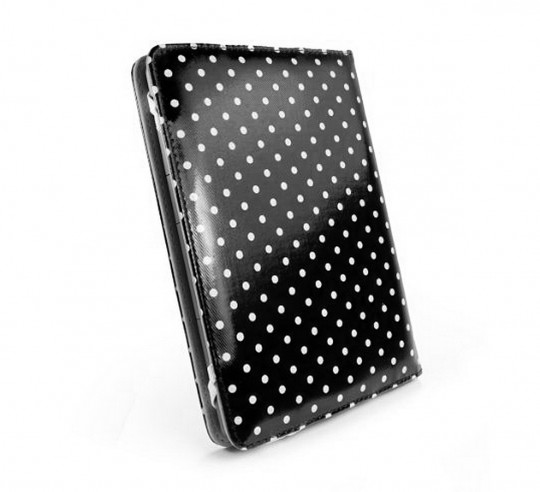 Tuff-Luv Slim Book-Style Fabric Case for Kobo Touch and Kobo Glo