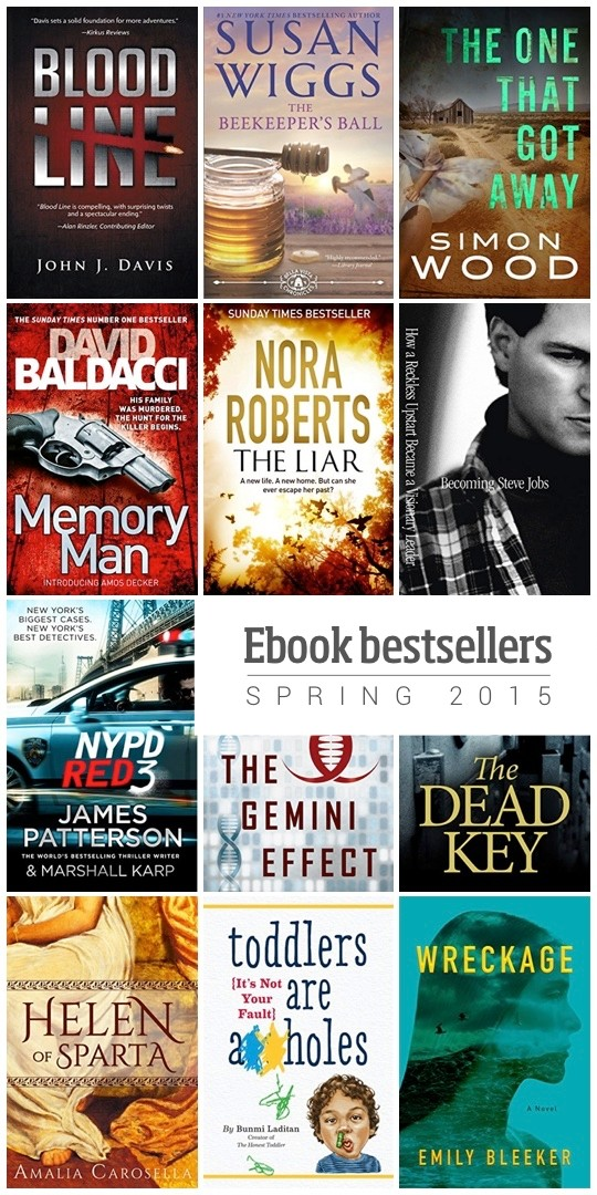 12 sure-fire ebook bestsellers - spring 2015