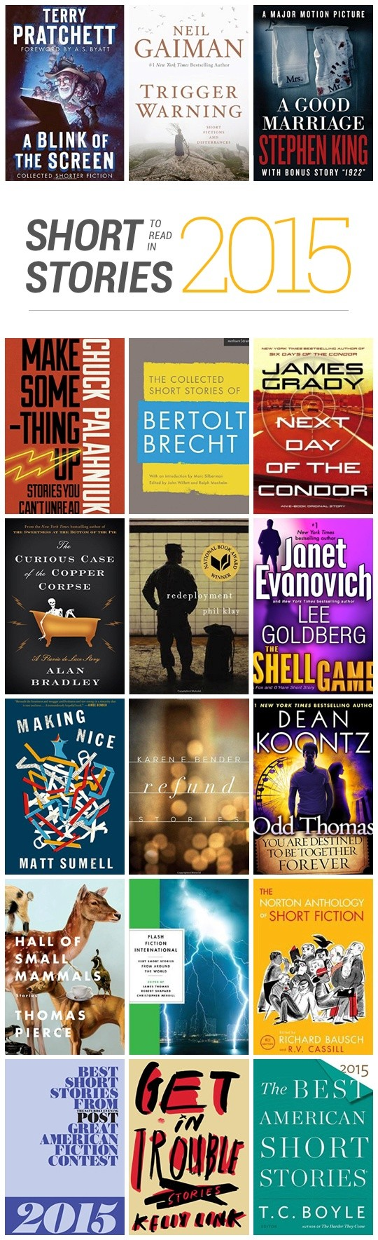 Best short stories to read in 2015 best short stories to read in 2015 infographic fandeluxe Choice Image