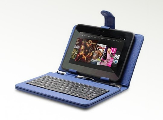 Stand Case w: USB Keyboard and Stylus for Samsung Galaxy Tab 2 7.0