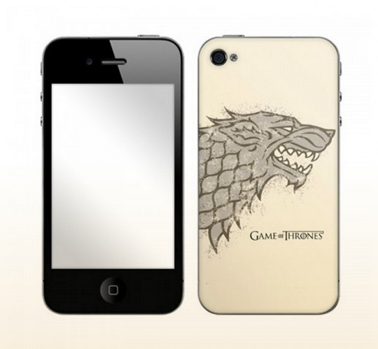 Game of Thrones House Stark Distressed iPhone Skin