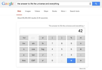 Google - the ultimate answer