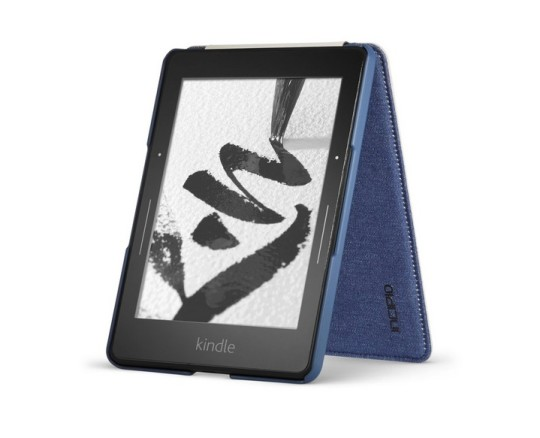 Incipio Top Folio Cover for Kindle Voyage - standing