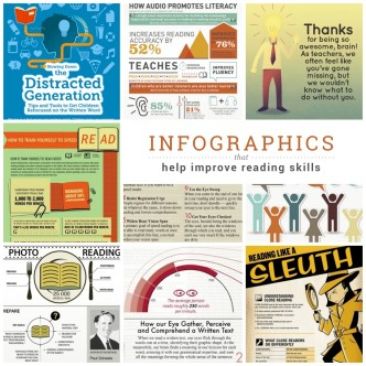Infographics that help improve reading skills