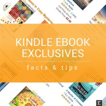 Kindle ebook exclusives tips