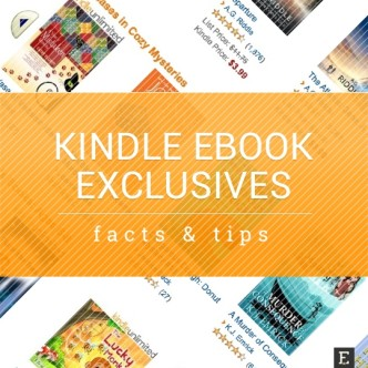 Kindle ebook exclusives - tips and facts to know