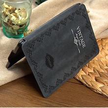 Mosiso Slim Fit Retro Kindle Voyage Case - Black