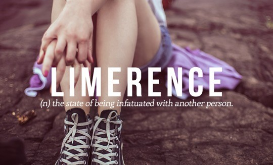 Most beautiful English words - Limerence