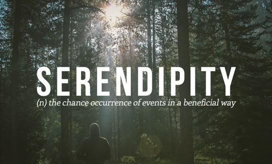 Most beautiful English words - Serendipity