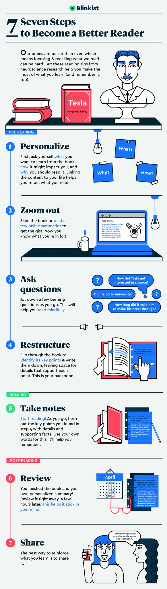 Seven steps to get the most out of your reading #infographic
