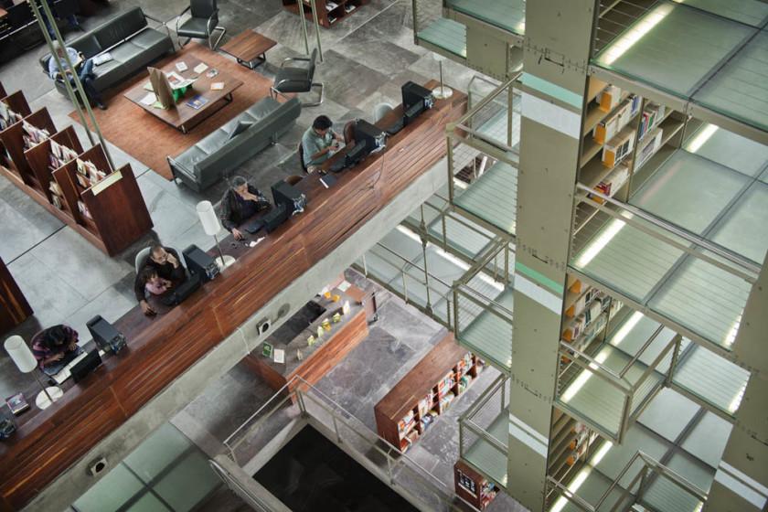 Biblioteca Jose Vasconcelos - inside