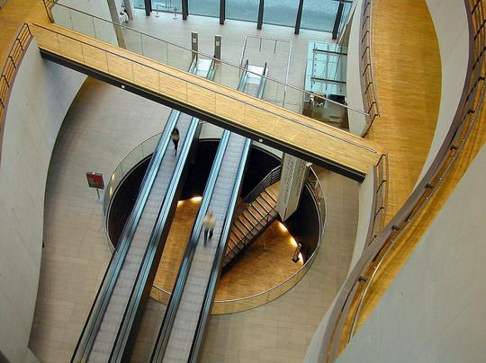 Black Diamond #Library, Copenhagen / designed by Schmidt Hammer Lassen