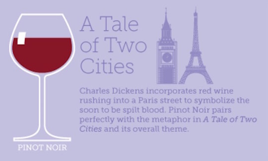 Book and wine pairings - A Tale of Two Cities