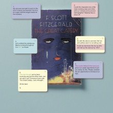Client feedback on famous novels - The Great Gatsby