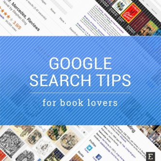 Google search tips for book lovers