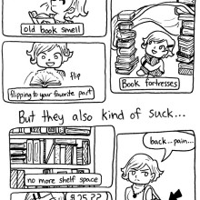 I love read books but - cartoon