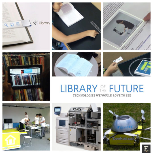 Libraries of the future - technologies we would love to see