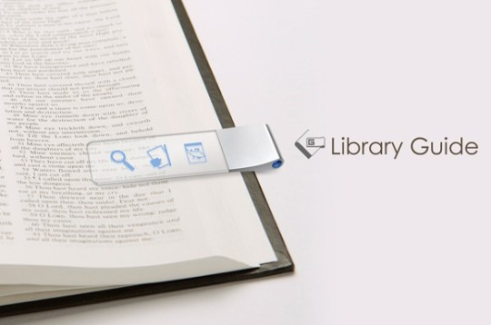 Library bookmark