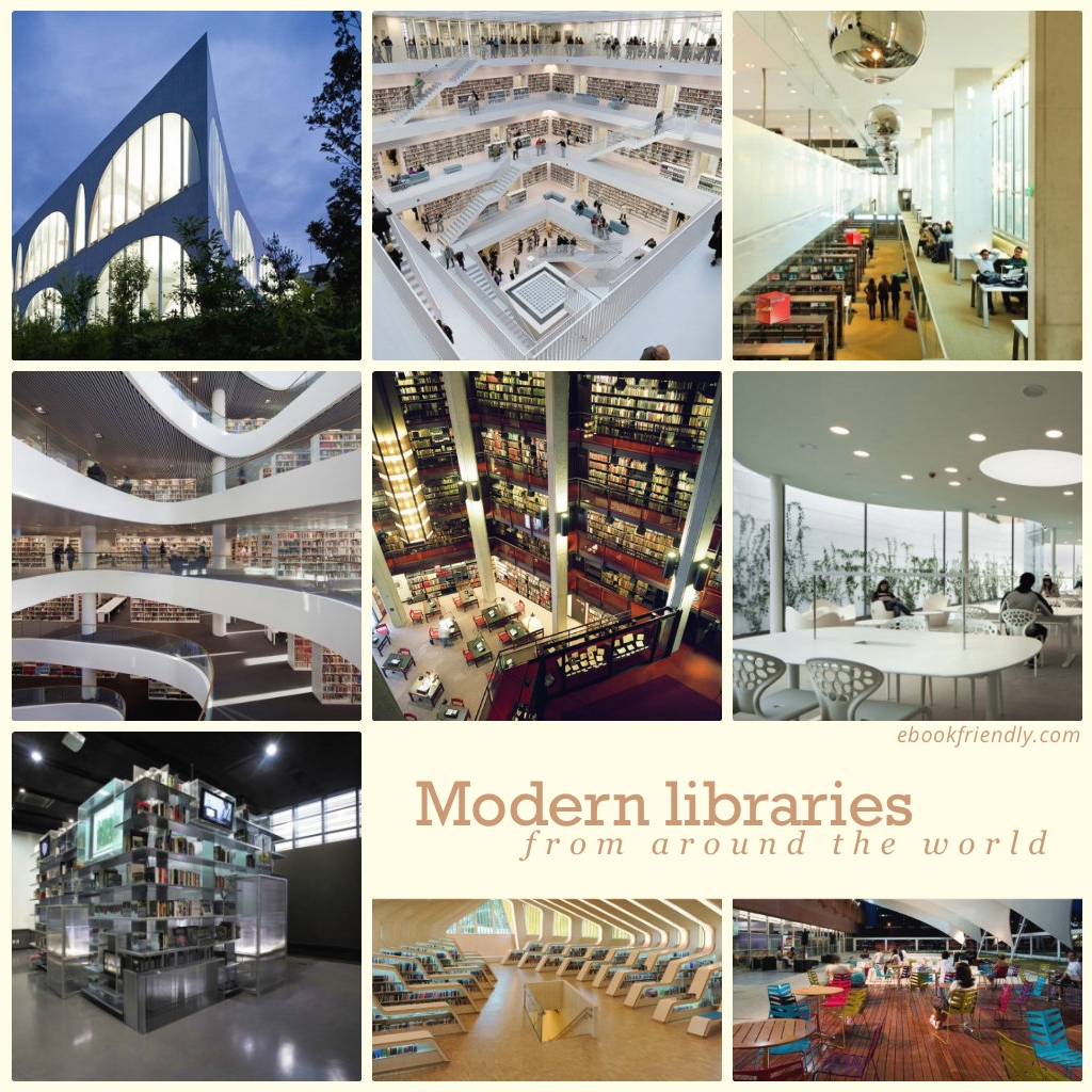 Mesmerising modern libraries from around the world
