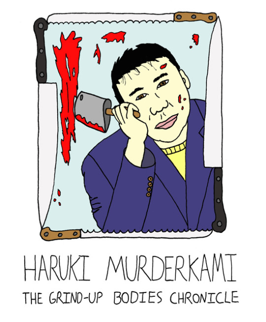 Monsters of Modern Literature - Haruki Murakami