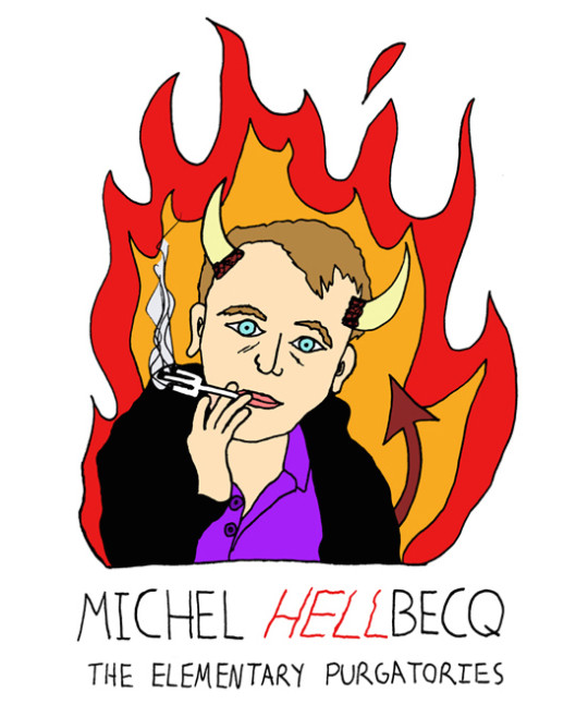 Monsters of Modern Literature - Michel Houellebecq
