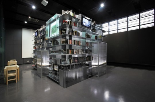 "Nam June Paik #Library ""redefines the relationship between library users and information"""