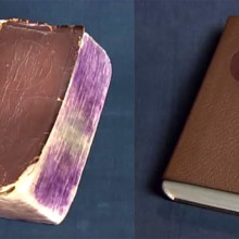 Old book repaired to look like new - video thumb