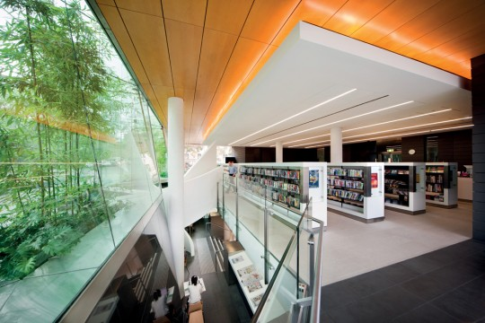 Surry Hills Library and Community Centre - inside