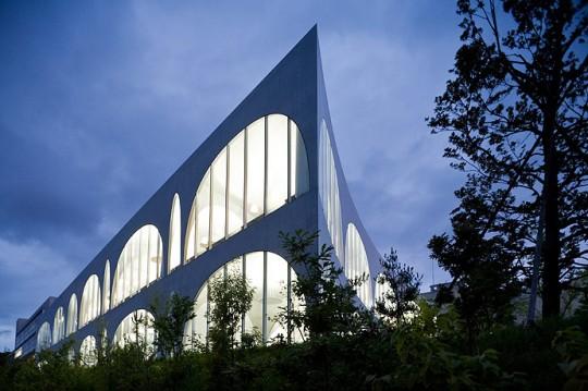 One of Tama Art University #Libraries, Japan