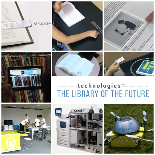 Technologies for the #library of the future