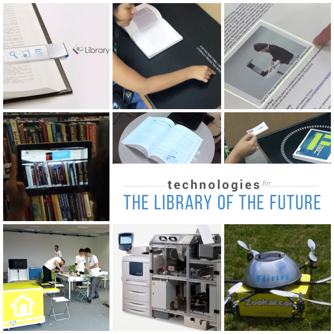 library of the future technologies we would love to see