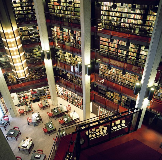 Thomas Fisher Rare Book #Library - the largest repository of rare books and manuscripts in Canada.