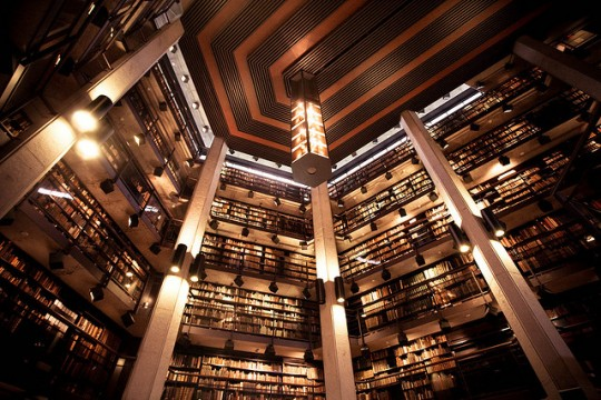 Thomas Fisher Rare Book Library - inside