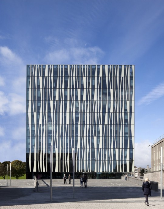University of Aberdeen New #Library / designed by Schmidt Hammer Lassen Architects
