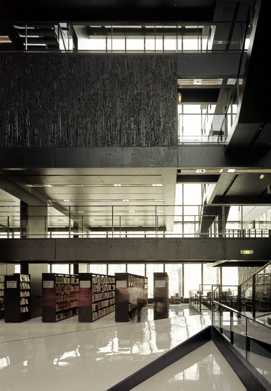 Utrecht Library - inside