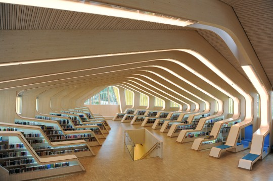 Library Design 37 modern libraries from around the world