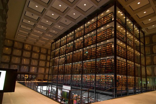 Yale University Beinecke Rare Book #Library / designed by Gordon Bunshaft