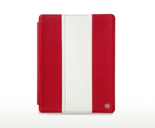 AT&T Leather Golf Case for iPad 4, 3, and 2