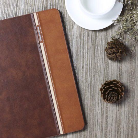Auaua iPad 9.7 Book-style Folio Stand Case