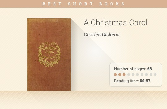 Best short books - A Christmas Carol - Charles Dickens