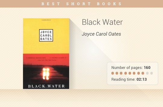 Best short books - Black Water - Joyce Carol Oates